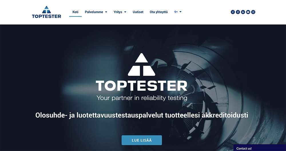 toptester wp-sivut
